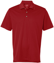 North Sunflower Athletics Adidas Golf ClimaLite® Basic Performance Pique Polo