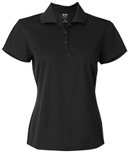 Fire Department Adidas Golf Women's ClimaLite® Basic Performance Pique Polo