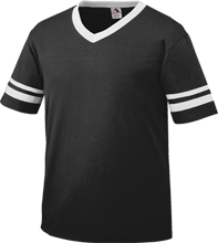 Gordon Elementary School School V-Neck Sleeve Stripe Jersey