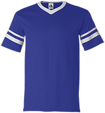 Garfield High School Boilermakers V-Neck Sleeve Stripe Jersey