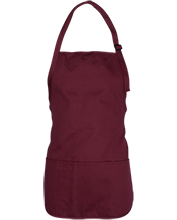 Johnson College Prep Pumas Design Your Own Medium Length Apron