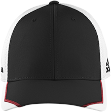 Baker Elementary School Braves Adidas Tour Mesh Fitted Cap