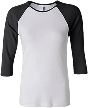 Baseball Junior 100% Cotton 3/4 Sleeve Baseball T