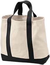 Brighton Transportation School 2-Tone Shopping Tote