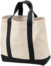Universty Christian School Flames 2-Tone Shopping Tote