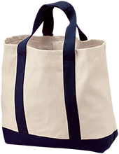 Genoa Middle School Cogwheels 2-Tone Shopping Tote