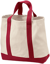 Lacey Spring Elementary School Eagles 2-Tone Shopping Tote