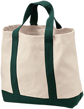 Tall Oaks Classical Titans 2-Tone Shopping Tote