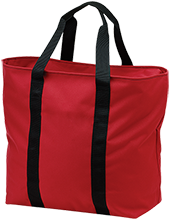 Jamesville DeWitt High School Red Rams All Purpose Tote Bag