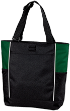 Walker Butte K-8 School Coyotes Personalized Colorblock Zipper Top Tote Bag