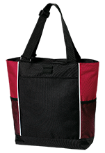Mechanicville High School Red Raiders Personalized Colorblock Tote Bag