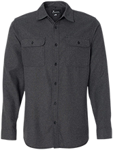Downers Grove North High School Trojans Long Sleeve Flannel Shirt