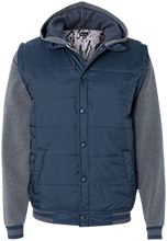Chesterfield Academy School Nylon Vest with Fleece Sleeves