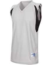 DESIGN YOURS Mens Colorblock Basketball Jersey