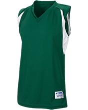 Bennett Woods Elementary School Trailblazers Youth Colorblock Basketball Jersey