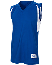 Columbia Christian Academy School Youth Colorblock Basketball Jersey