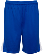 Monroe Consolidated School Mustangs Adult Player Short