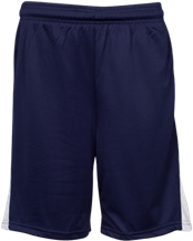 Bordeaux Elementary School Bulldogs Youth Reversible Player Short