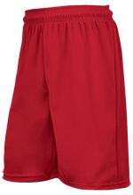 Milton Middle School Red Wings Custom Printed Training Short