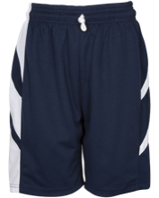 Bordeaux Elementary School Bulldogs Reversible Game Short