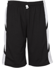 Eva Marshall Elementary School Mustangs Youth Reversible Game Short