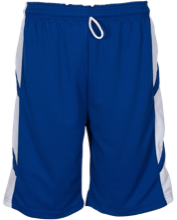 Monroe Consolidated School Mustangs Youth Reversible Game Short