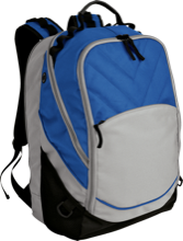 Lincoln South School Mustangs Embroidered Laptop Computer Backpack