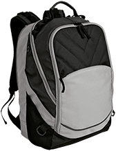 Central School Green Waves Embroidered Laptop Computer Backpack