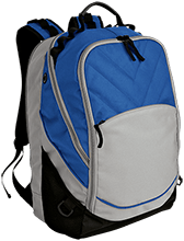 Lasalle II Falcons Embroidered Laptop Computer Backpack