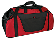 Saint Beatrice School Bulls Medium Color Block Gear Bag