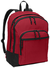 Memorial Middle School Trojans/cardinals Basic Backpack