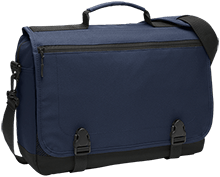 Lansing Eastern High School Quakers Messenger Briefcase