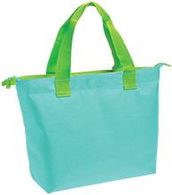 Softball Zippered Tote