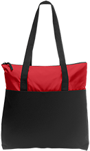 South Salem High School Saxons Zip Top Tote