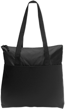 Baseball Zip Top Tote