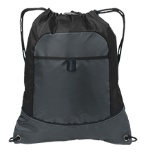 Christa McAuliffe Academy Challengers Pocket Cinch Pack