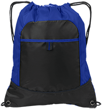 Lincoln South School Mustangs Pocket Cinch Pack