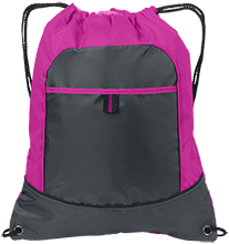 Riverview Training Center School Pocket Cinch Pack