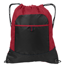 Niskayuna High School Silver Warriors Pocket Cinch Pack