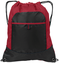 Beauvoir Elementary Indians Pocket Cinch Pack