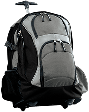 isempty Triway Titans Triway Titans Custom Embroidered Wheeled Backpack