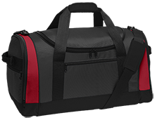 Niskayuna High School Silver Warriors Travel Sports Duffel