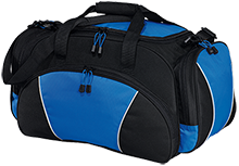 Holm Elementary School Blue Dolphins Medium Gym Bag