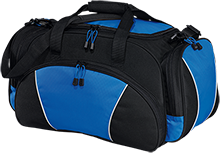 Bates Elementary Braves Medium Gym Bag