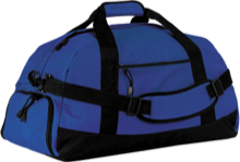 Holm Elementary School Blue Dolphins Basic Large-Sized Duffel Bag
