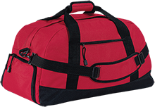 Jamesville DeWitt High School Red Rams Basic Large-Sized Duffel Bag
