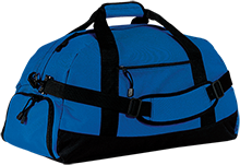 Bates Elementary Braves Basic Large-Sized Duffel Bag