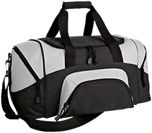 Breast Cancer Small Colorblock Sport Duffel Bag