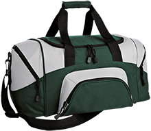 Rancho High Alumni Rams Small Colorblock Sport Duffel Bag