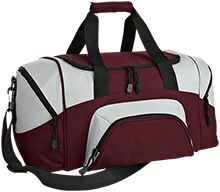 Okoboji Community School Pioneers Small Colorblock Sport Duffel Bag